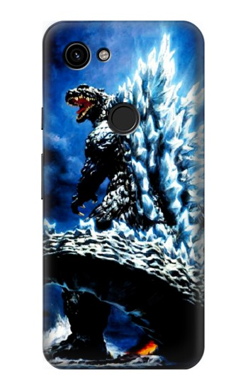 Printed Godzilla Giant Monster Google Pixel 3a Case