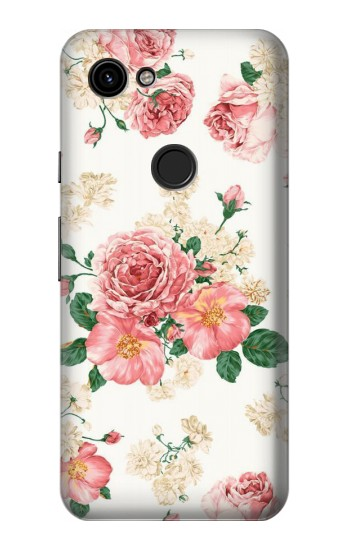 Printed Rose Pattern Google Pixel 3a Case