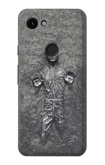 Printed Han Solo in Carbonite Google Pixel 3a Case