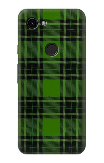 Printed Tartan Green Pattern Google Pixel 3a Case