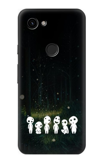 Printed Forest Spirit Princess Mononoke Google Pixel 3a Case