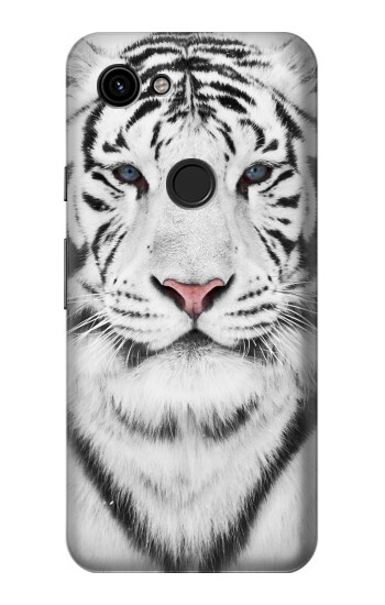 Printed White Tiger Google Pixel 3a Case