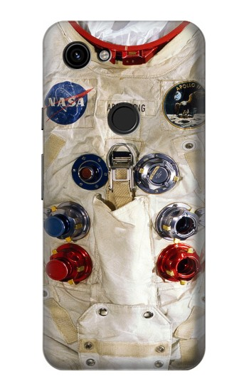 Printed Neil Armstrong White Astronaut Spacesuit Google Pixel 3a Case