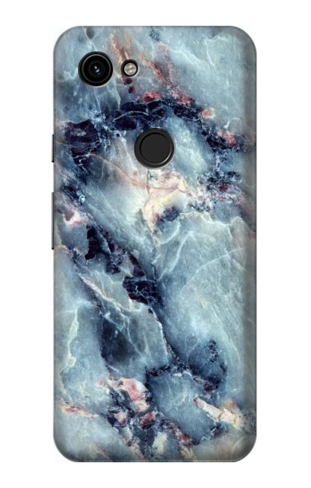 Printed Blue Marble Texture Google Pixel 3a Case