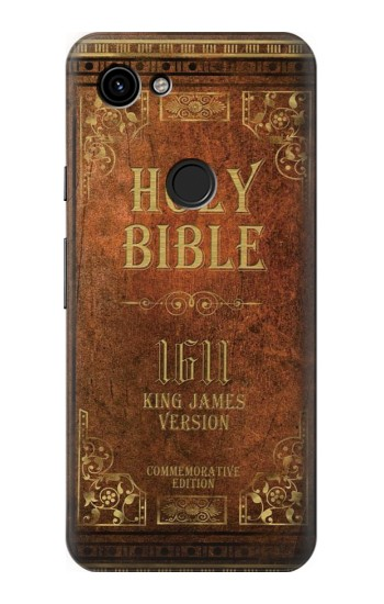 Printed Holy Bible 1611 King James Version Google Pixel 3a Case