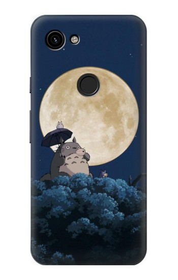 Printed Totoro Ocarina Moon Night Google Pixel 3a Case