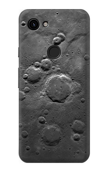 Printed Moon Surface Google Pixel 3a Case