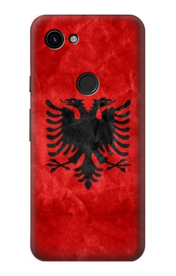 Printed Albania Red Flag Google Pixel 3a Case
