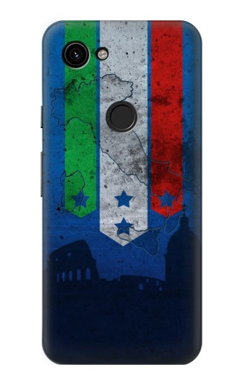 Printed Italy Football Flag Google Pixel 3a Case
