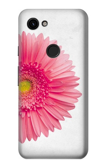 Printed Vintage Pink Gerbera Daisy Google Pixel 3a Case