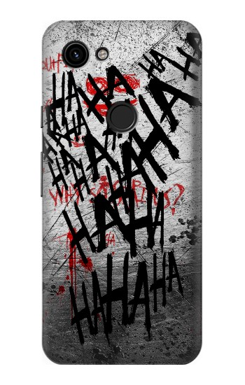 Printed Joker Hahaha Blood Splash Google Pixel 3a Case