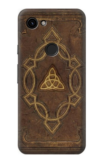 Printed Spell Book Cover Google Pixel 3a Case