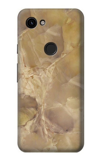 Printed Yellow Marble Stone Google Pixel 3a Case