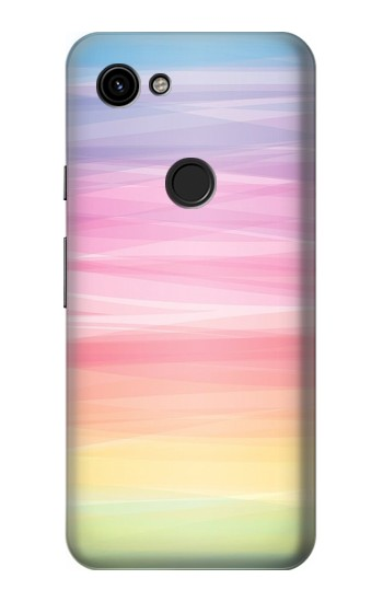 Printed Colorful Rainbow Pastel Google Pixel 3a Case