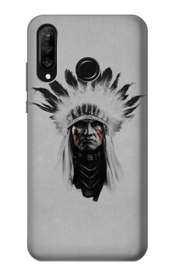 Printed Indian Chief Huawei P30 lite Case