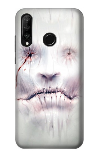 Printed Horror Face Huawei P30 lite Case