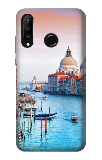 Printed Beauty of Venice Italy Huawei P30 lite Case