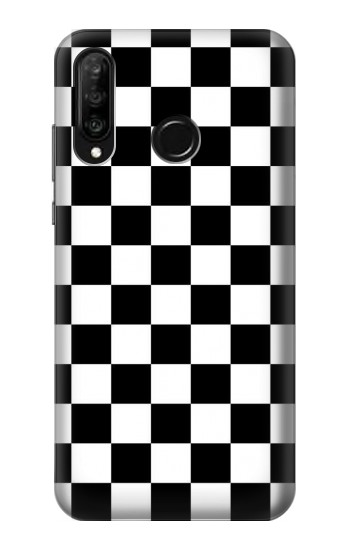 Printed Checkerboard Chess Board Huawei P30 lite Case