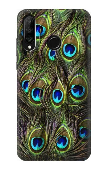Printed Peacock Feather Huawei P30 lite Case