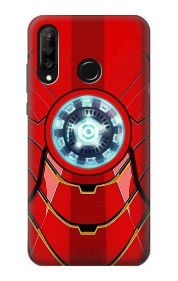 Printed Ironman Armor Arc Reactor Graphic Printed Huawei P30 lite Case