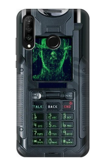 Printed The Matrix Mobile Phone Graphic Printed Huawei P30 lite Case