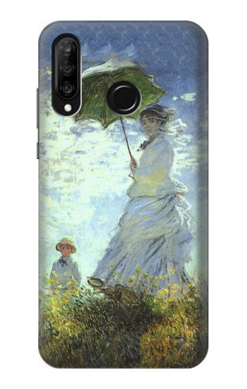 Printed Claude Monet Woman with a Parasol Huawei P30 lite Case