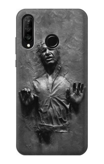 Printed Han Solo Frozen in Carbonite Huawei P30 lite Case