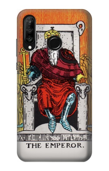Printed Tarot Card The Emperor Huawei P30 lite Case