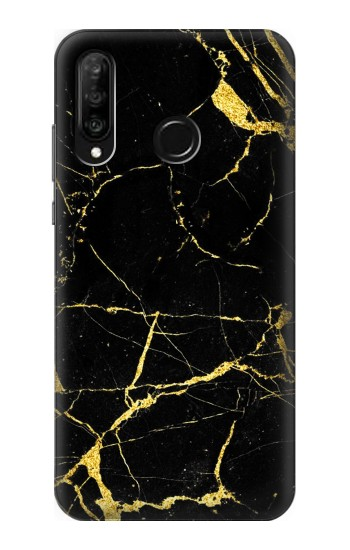 Printed Gold Marble Graphic Printed Huawei P30 lite Case