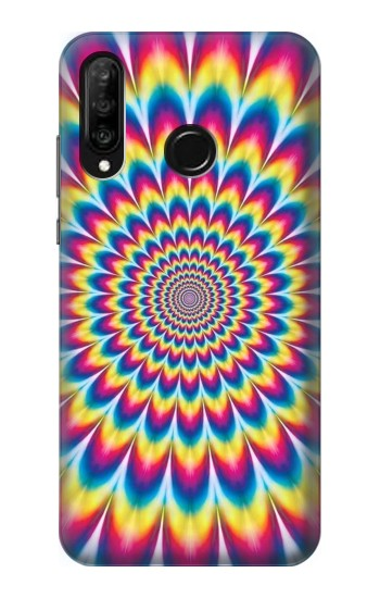 Printed Colorful Psychedelic Huawei P30 lite Case