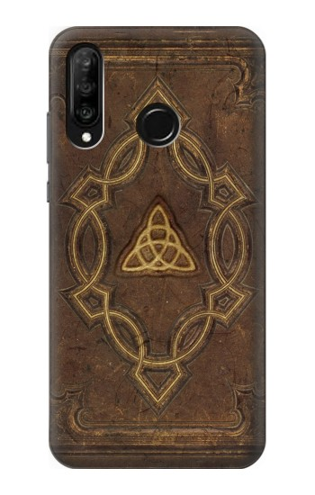 Printed Spell Book Cover Huawei P30 lite Case