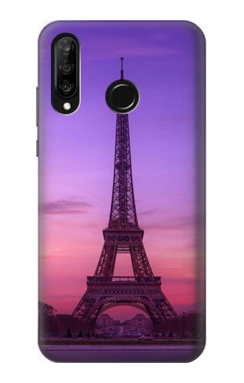 Printed Eiffel Paris Sunset Huawei P30 lite Case