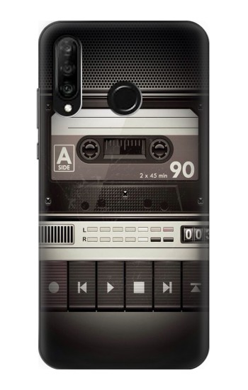 Printed Vintage Cassette Player Huawei P30 lite Case