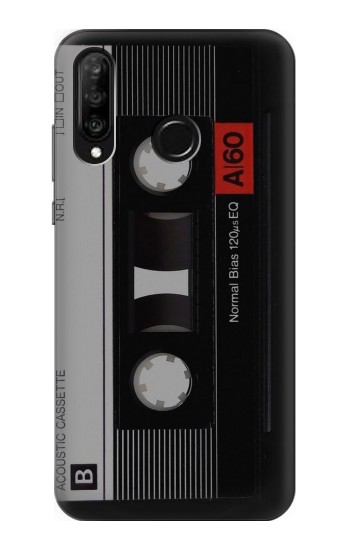 Printed Vintage Cassette Tape Huawei P30 lite Case