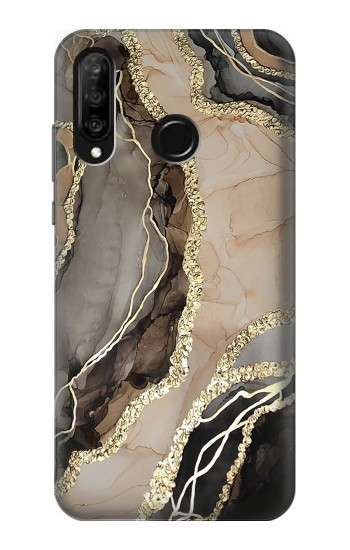 Printed Marble Gold Graphic Printed Huawei P30 lite Case