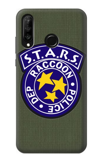 Printed Resident Evil Star Badge Chris Outfit Huawei P30 lite Case