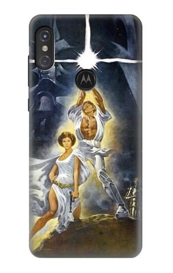 Printed New Hope Motorola One Power (P30 Note) Case