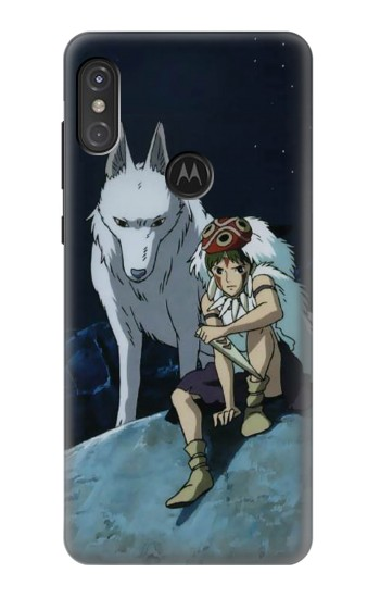 Printed Princess Mononoke San Motorola One Power (P30 Note) Case