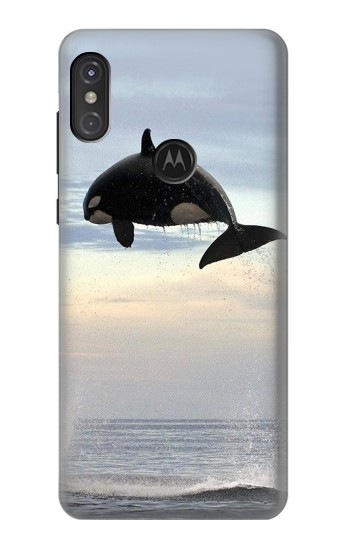 Printed Killer whale Orca Motorola One Power (P30 Note) Case