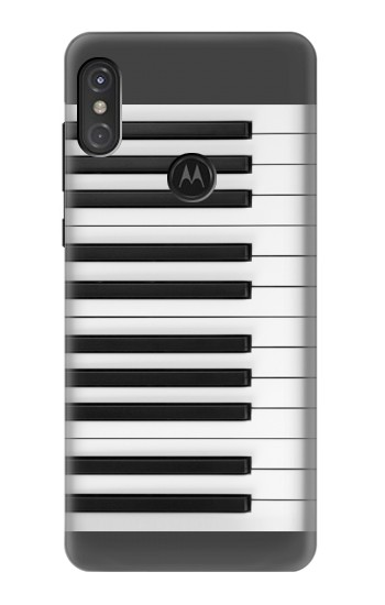 Printed One Octave Piano Motorola One Power (P30 Note) Case