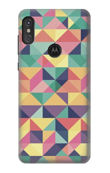 Printed Variation Pattern Motorola One Power (P30 Note) Case