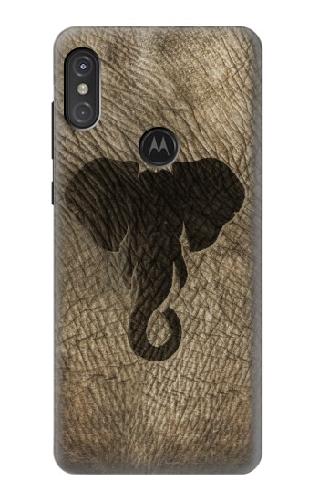 Printed Elephant Skin Motorola One Power (P30 Note) Case