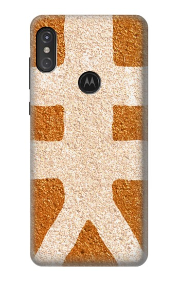 Printed The Fifth Element Symbol Motorola One Power (P30 Note) Case