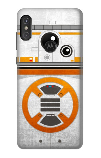 Printed BB-8 Rolling Droid Minimalist Motorola One Power (P30 Note) Case