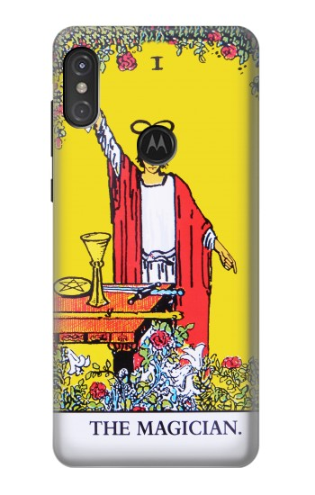 Printed Tarot Card The Magician Motorola One Power (P30 Note) Case