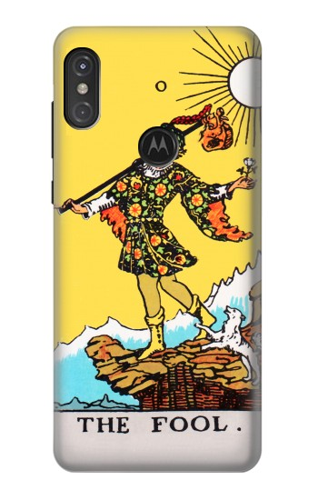 Printed Tarot Card The Fool Motorola One Power (P30 Note) Case