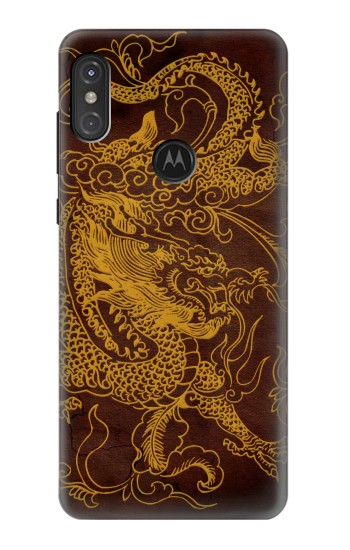 Printed Chinese Dragon Motorola One Power (P30 Note) Case