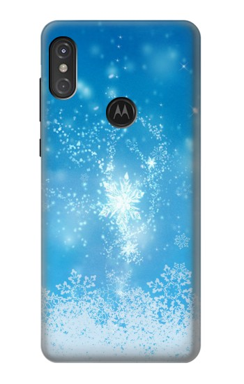 Printed Snow Spell Magic Motorola One Power (P30 Note) Case