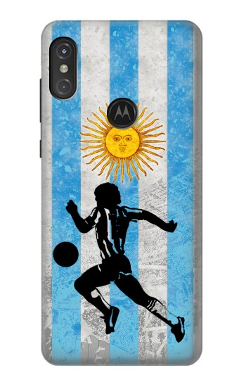 Printed Argentina Football Flag Motorola One Power (P30 Note) Case