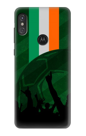 Printed Ireland Football Flag Motorola One Power (P30 Note) Case